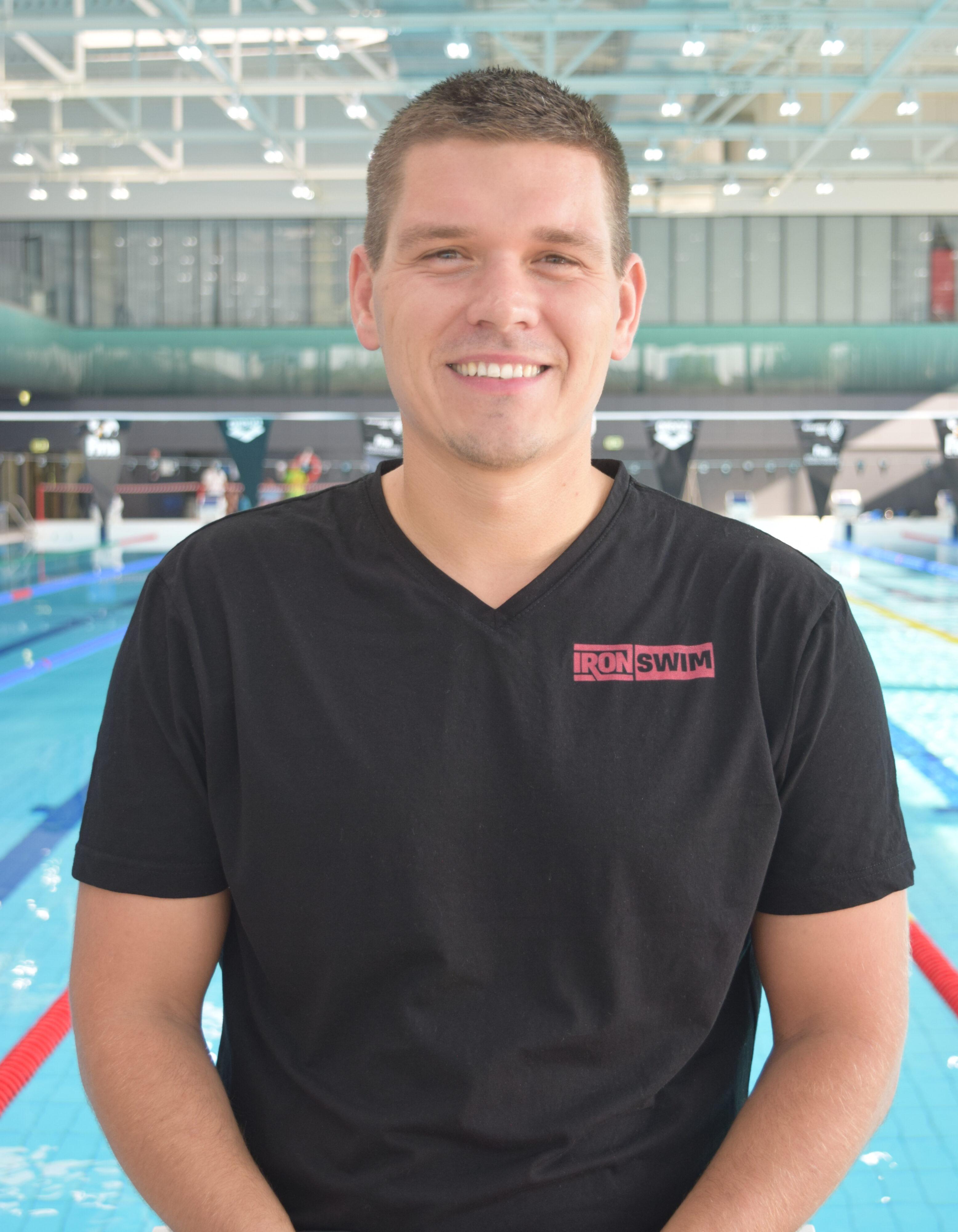 Petrov Árpád - Iron Swim, vezetőedző